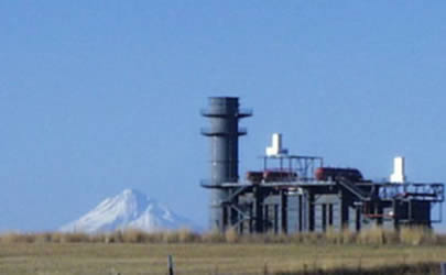Goldendale Energy Gas-Fired Turbine Project